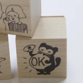 Goat x Masco Rubber Stamp - OK