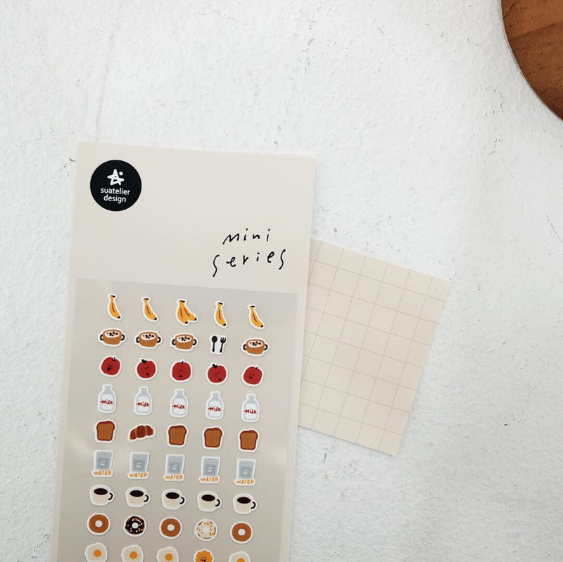 Suatelier Mini Sticker - Food 01 & 02