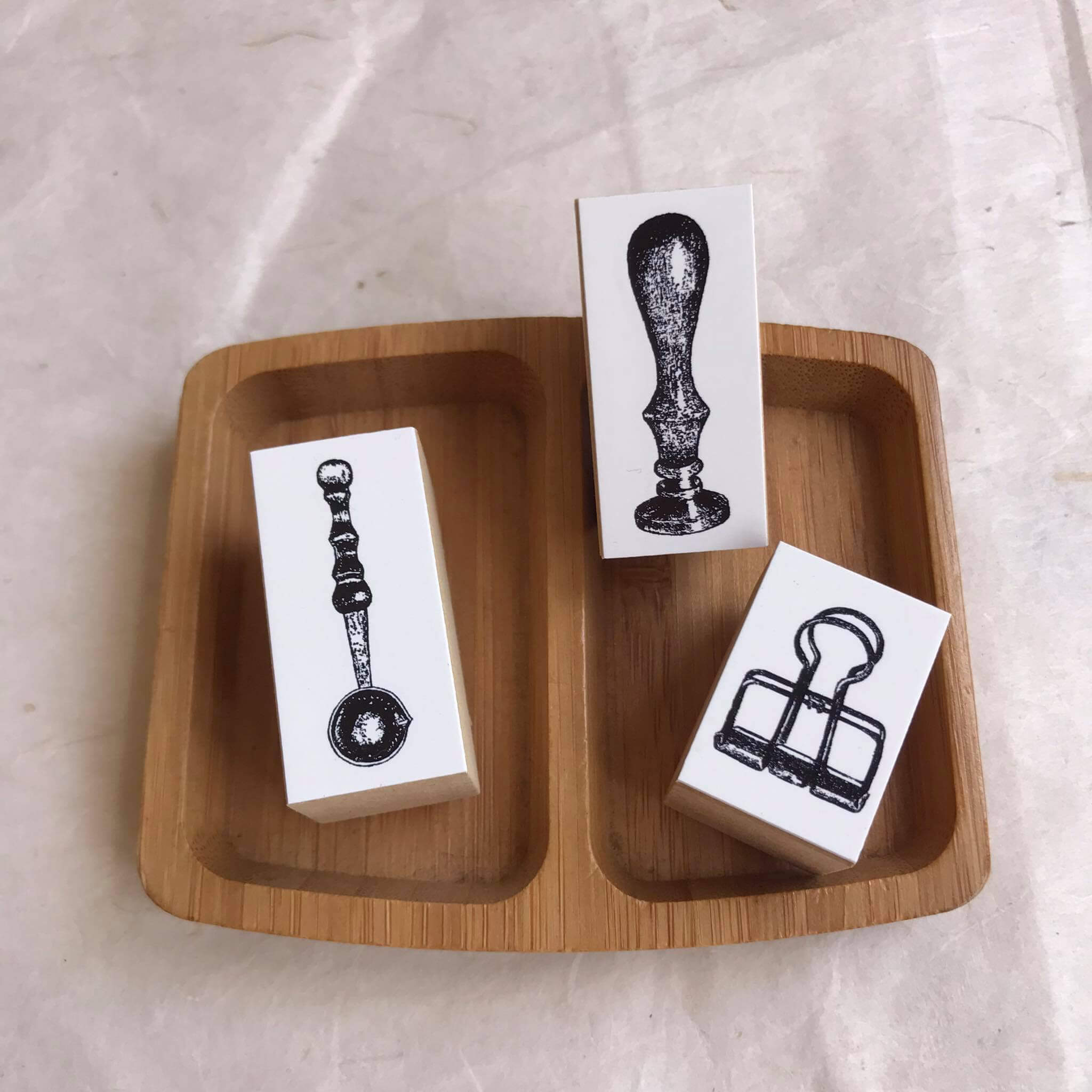 OHS Stationery Rubber Stamp: Paper Clip