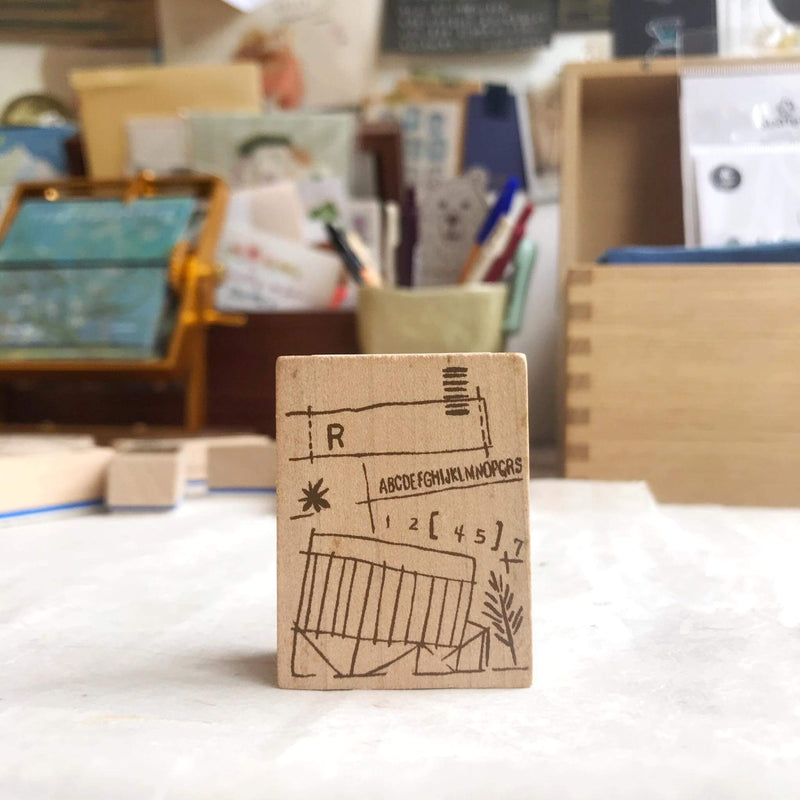 Chamil Garden Rubber Stamp Collection Vol.1- First-A1