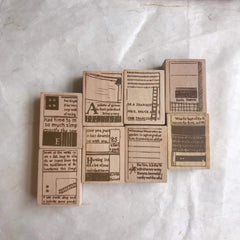 Chamil Garden Rubber Stamp Collection Vol.1- Book