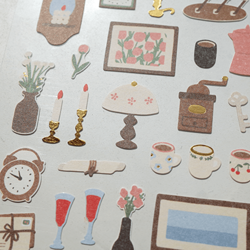 Suatelier Sticker - Vintage Mood