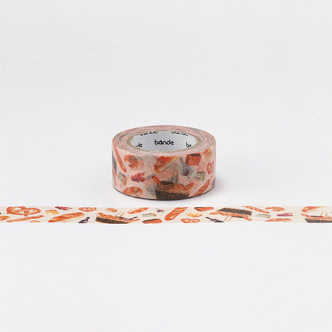 Bande Washi Tape - Bakery & Food