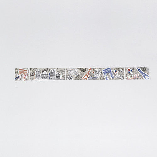 Bande Washi Tape - Paris
