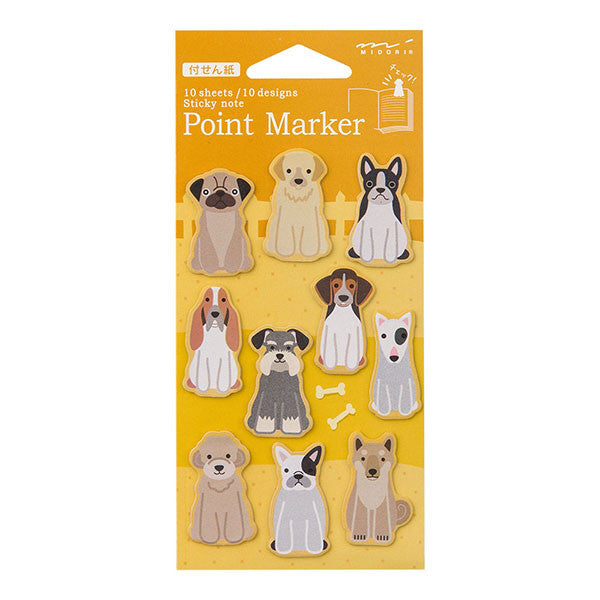 MD Animal Point Marker Sticky Note