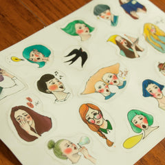 LDV A New Life Sticker Sheet