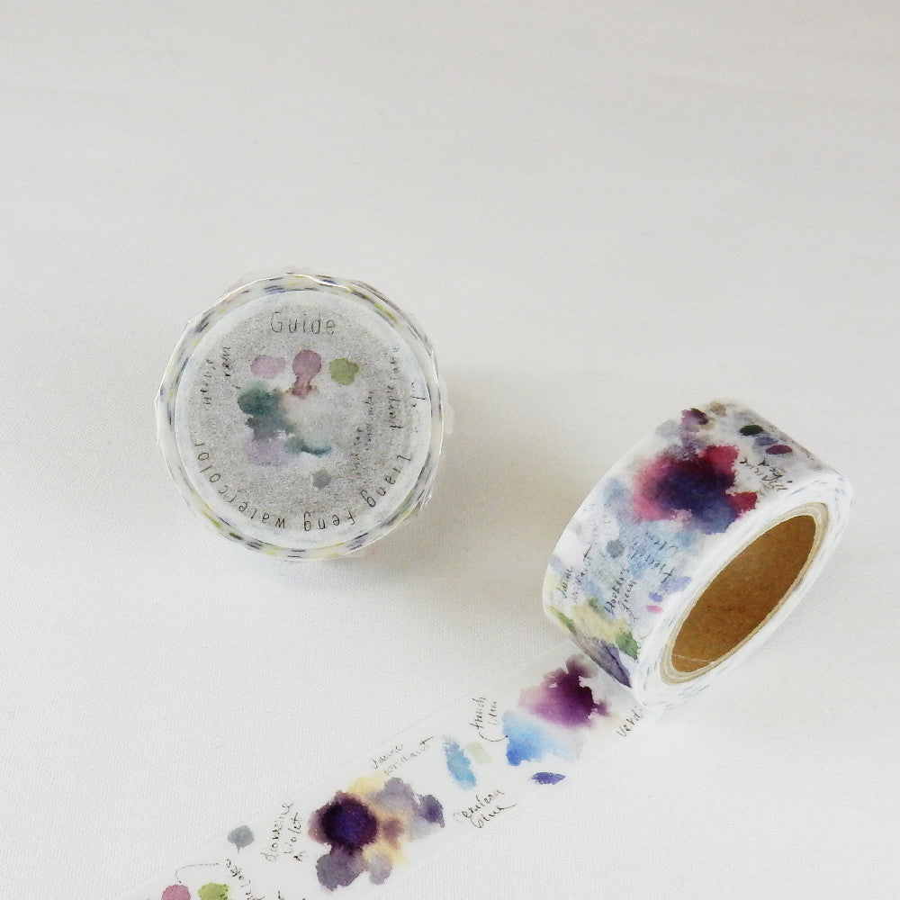 Liang Feng 涼丰 Watercolour Washi Tapes Collection Vol. 2