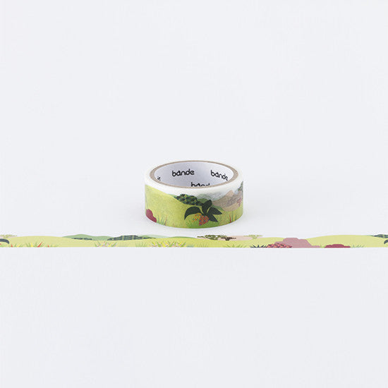 Bande Sticker Washi Tapes - Safari Zoo