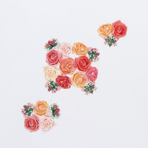 Bande Sticker Washi Tapes - Classic Roses