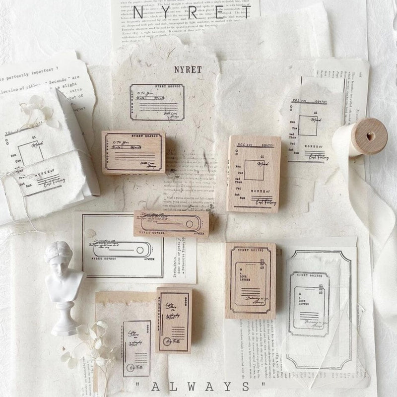 nyret Rubber Stamp Collection - Always