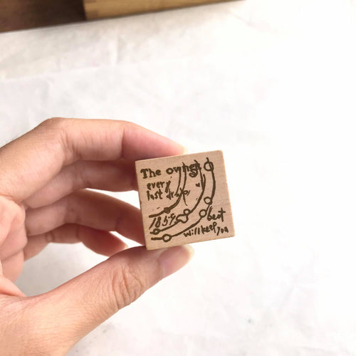 Chamil Garden Rubber Stamp Collection Vol.1- Hours E6