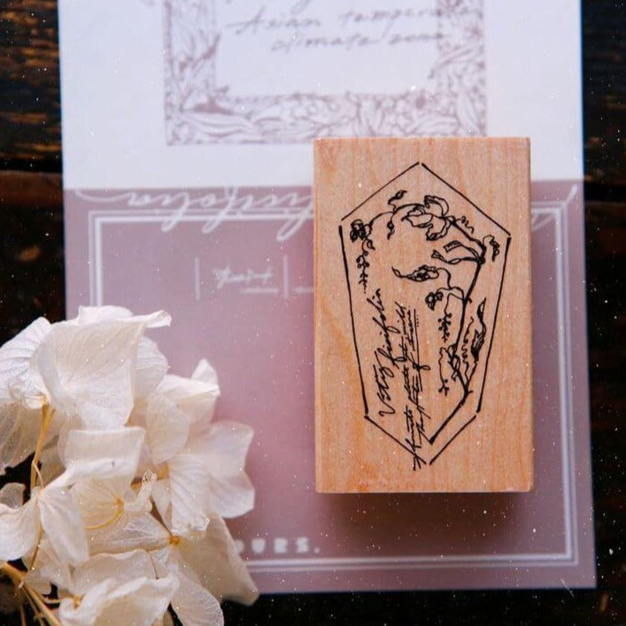 OURS Wild Grape Rubber Stamp