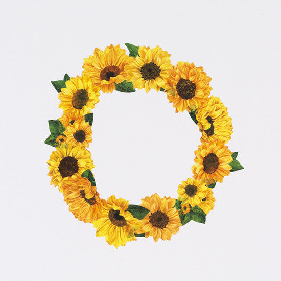 Bande Sticker Washi Tapes - Sunflower ('17 Summer Series)