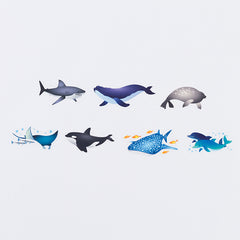 Bande Sticker Washi Tapes - Ocean World