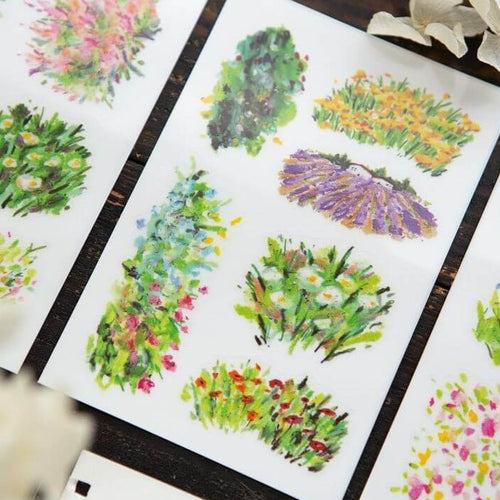 OURS Print-On Stickers VI - Bright Bloom