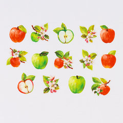 Bande Sticker Washi Tapes (Autumn Series) - Apple