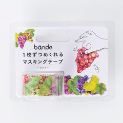 Bande Sticker Washi Tapes (Autumn Series) - Grapes