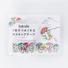 Bande Sticker Washi Tapes (Autumn Series) - Mushroom
