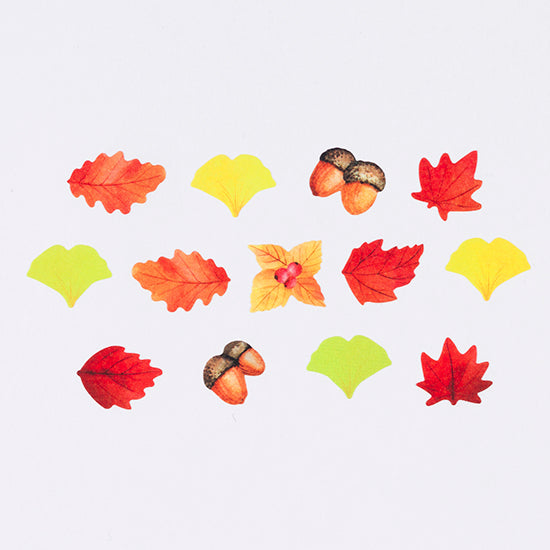 [Autumn Limited Edition] Bande Sticker Washi Tapes - Maple Leaves