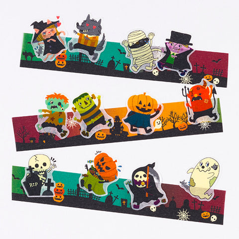 [Limited Edition] Bande Sticker Washi Tapes - Halloween