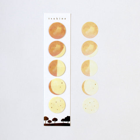 Moon Phases Film Sticky Markers