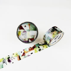Liang Feng 涼丰 Watercolour Washi Tapes Collection Vol. 3 - Illustration Books