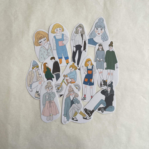 Girl's Project Stickers 009