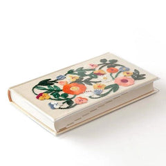 Midori 5 Years Diary Book - Embroidery Flower / Beige