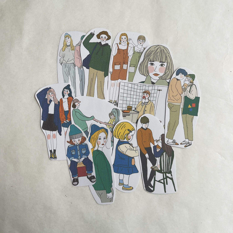 Girl's Project Stickers 006