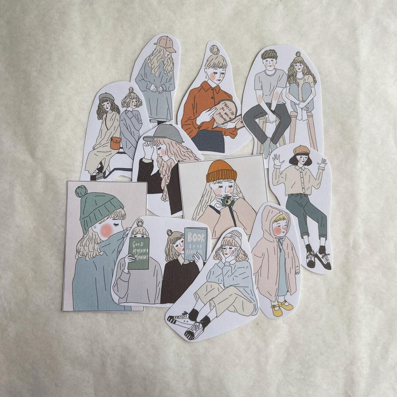 Girl's Project Stickers 020