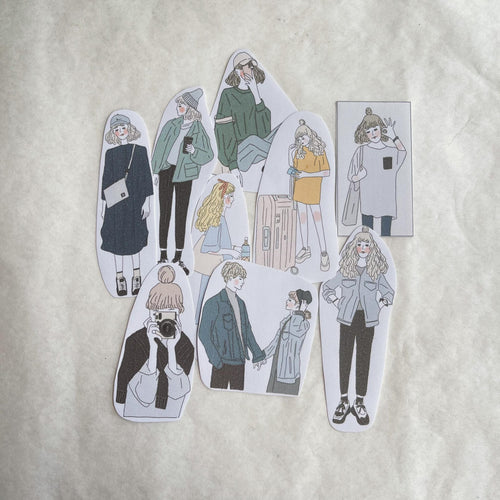 Girl's Project Stickers 018