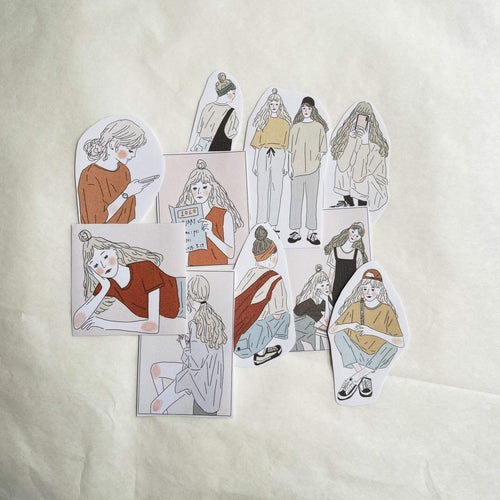 Girl's Project Stickers 033