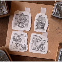 LCN Houses Mineral Stamps