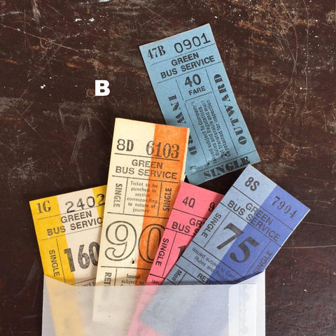 Vintage Setright Ticket Sets