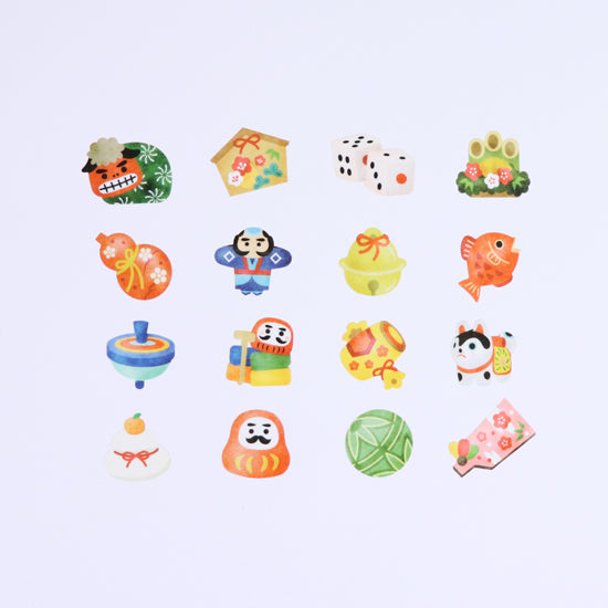 Bande Sticker Washi Tapes - New Year Series