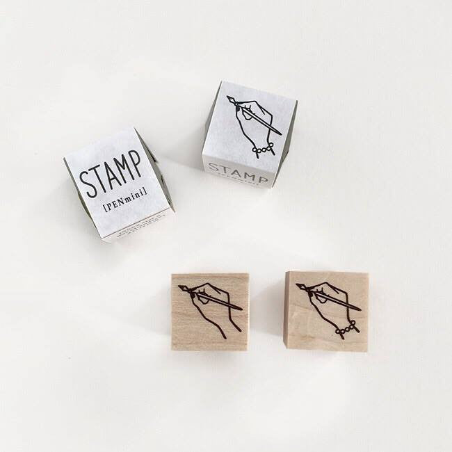 KNOOP Original Rubber Stamp - Pen