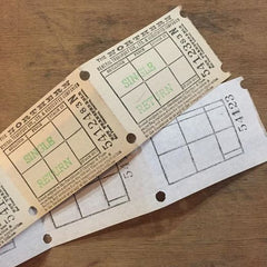 Bellgraphic Bus Tickets (5pcs)