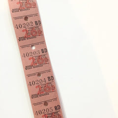 Vintage Bus Tickets Roll - Tyne And Wear P.T.E
