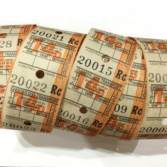 Vintage Bus Tickets Roll - Chester City Transport 14p