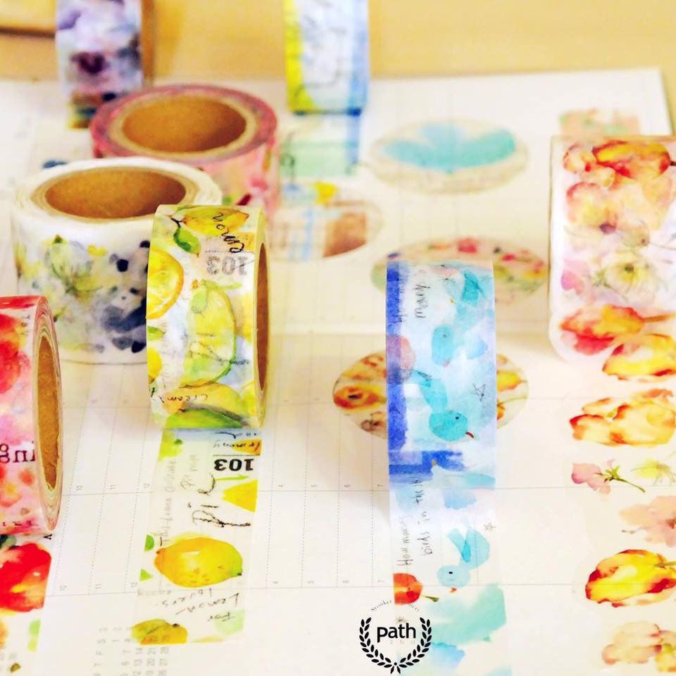 Liang Feng Washi Tapes Collection Vol. 1