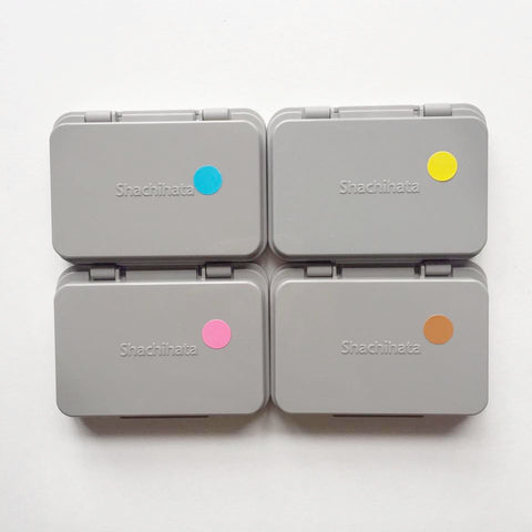 Shachihata Ink Pads (S) - Special Colours Series