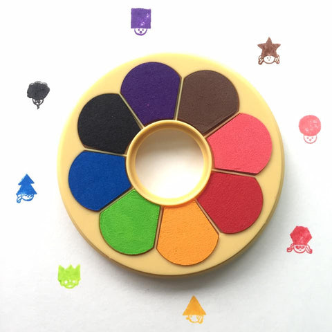 Shachihata Donut Ink Pads (8 Colours)