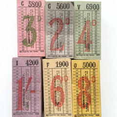Omnibus Tickets Collection