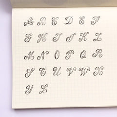 Classiky Alphabet Stamps (S Size)