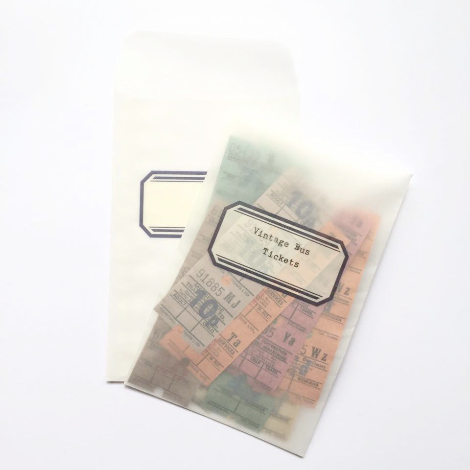 Classiky Glassine Envelopes (Label)