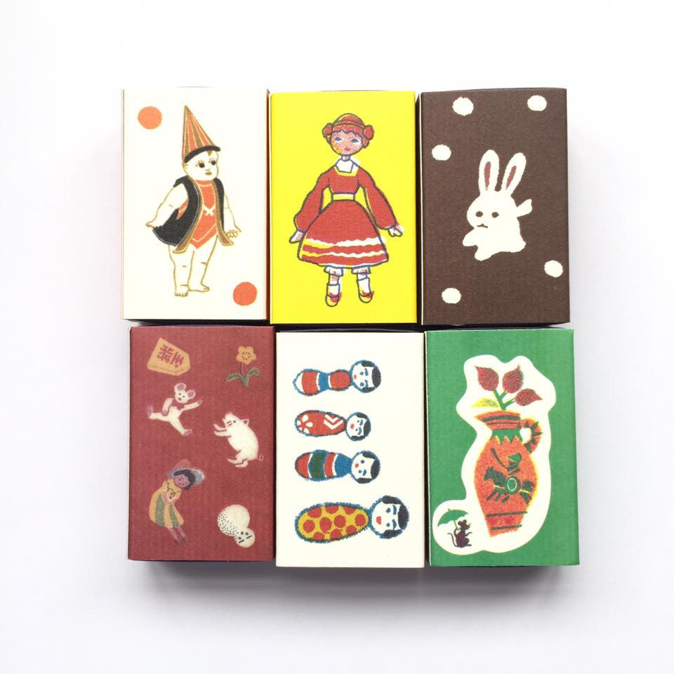 Classiky x Yonagadou Matchbook Seals