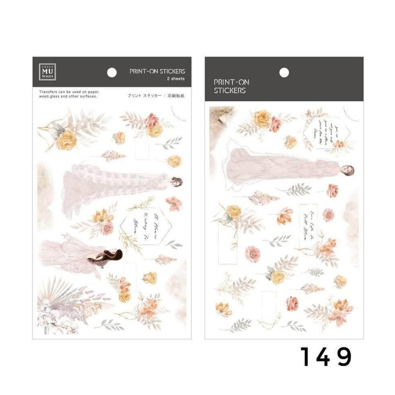 MU Print-On Sticker - Winter Limited Edition Series II