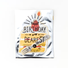 "AIUEO ""It's my treat"" Birthday Postcards Collection"