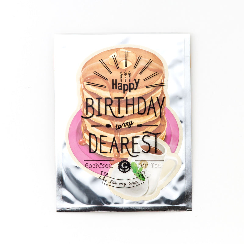 "AIUEO ""It's my treat"" Birthday Postcard Collection"
