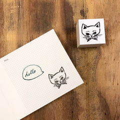 36 Sublo x Loule Cat Rubber Stamps